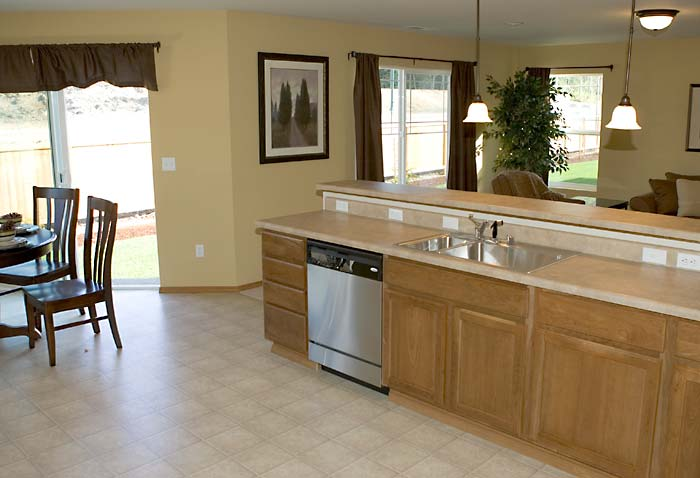Skagit Valley New Green Homes - Kitchen