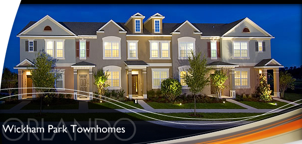 Wickham Park - Orlando New Townhomes For Sale