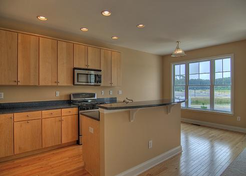 Dealaware New Townhomes For Sale At Canal Pointe - Kitchen