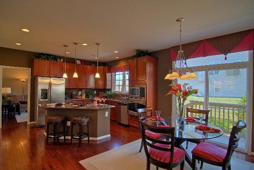 Cardinal Glen Kitchen - Woodbridge Virginia VA New Homes For Sale