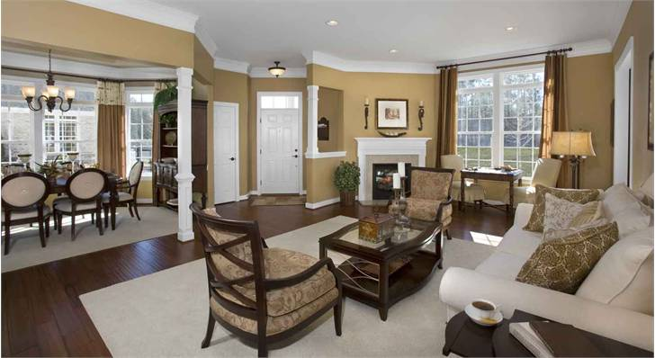 Stonebridge Gardens Livingroom - Homes For Sale in Richmond VA
