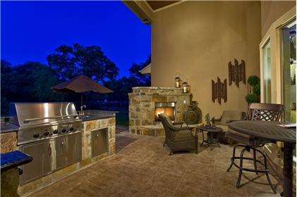 Brodie Springs New Homes For Sale In Austin TX - Backyard