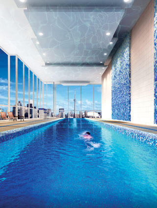 Toronto new condos for sale at California Condos-pool