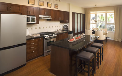 Vancouver BC New Townhomes For Sale At Whitetail Lane - Kitchen