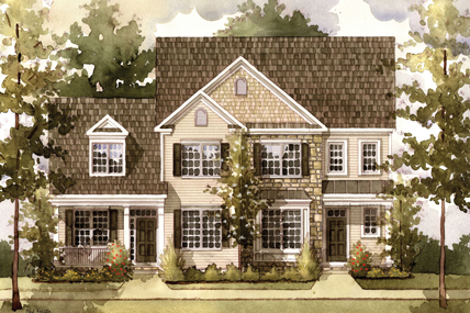 Greystone Mews New Townhomes For Sale In Dublin, Ohio