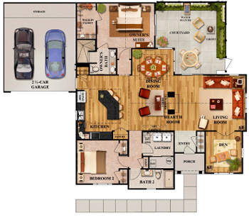 Marrington Villas Floorplan