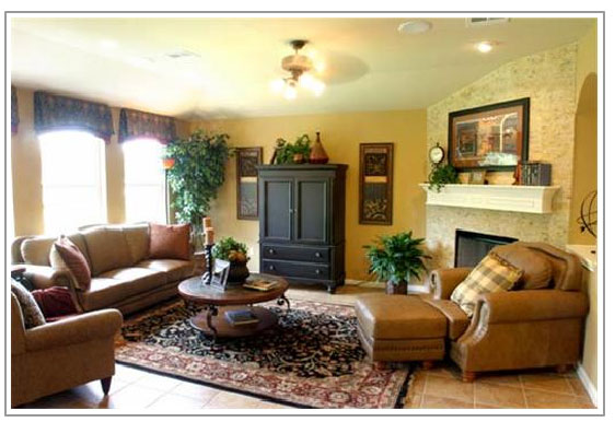 Villages of Berry Creek Livingroom - New Homes For Sale