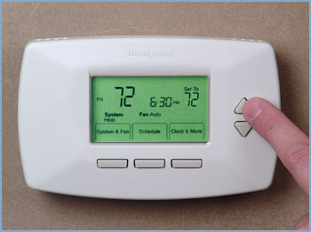 Energy Saving Programmable Thermostat