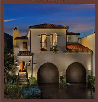Rancho santa fe new golf course homes at crosby villas for Spanish style homes for sale