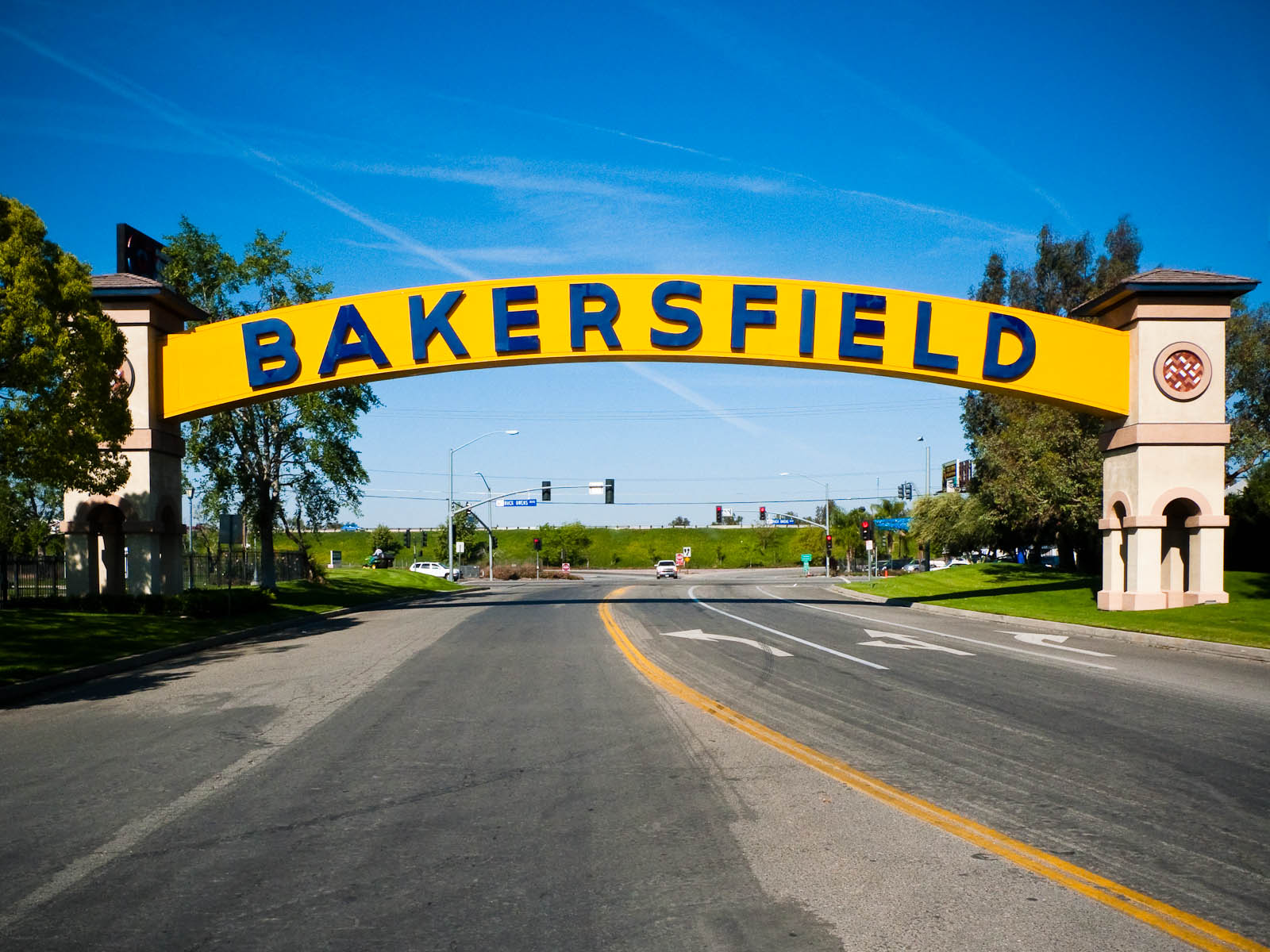Bakersfield California City Sign