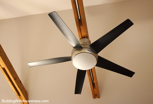 Real Airplane Propeller Ceiling Fan : Save energy and money part ii