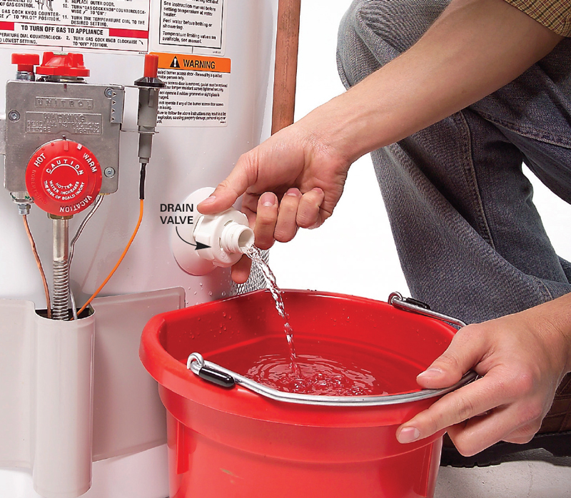 How To Drain Your Water Heater Tank
