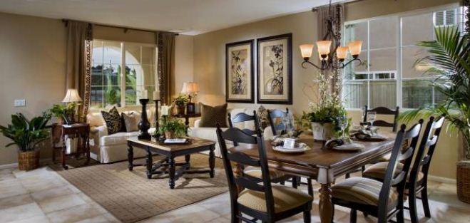 Madison Lane Homes Dining Room