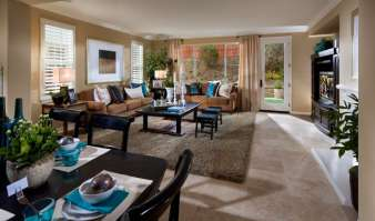 New Homes at Rockrose Livingroom