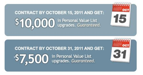 Wayne Homes October Promotion