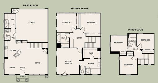 Villas de Avila Floorplan 2