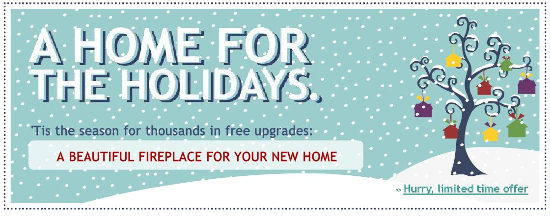Wayne Homes Pittsburgh Home for the Holidays Promotion