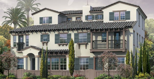 Villas de avila has three story homes for 3 story house