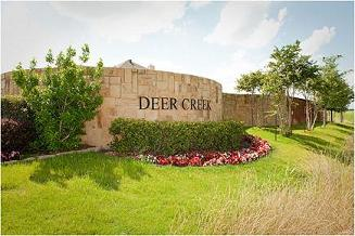 Deer Creek New Homes Entrance