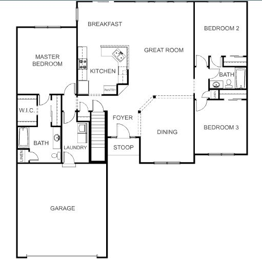 Wayne homes newark announces new floorplan Wayne homes floor plans