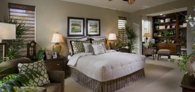 Andalusia New Homes Master Bed Room