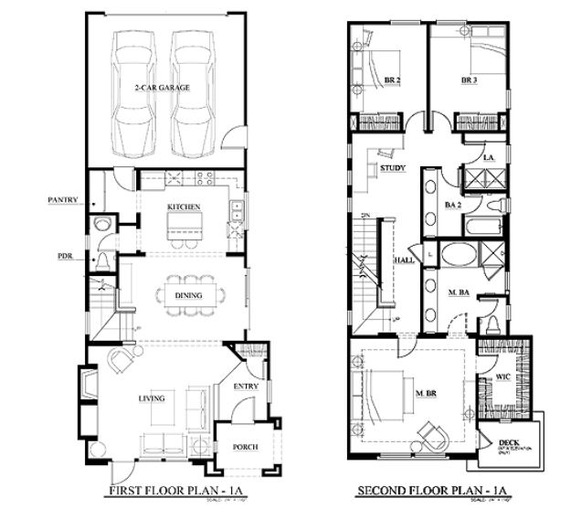 Terraza New Townhomes Floorplan