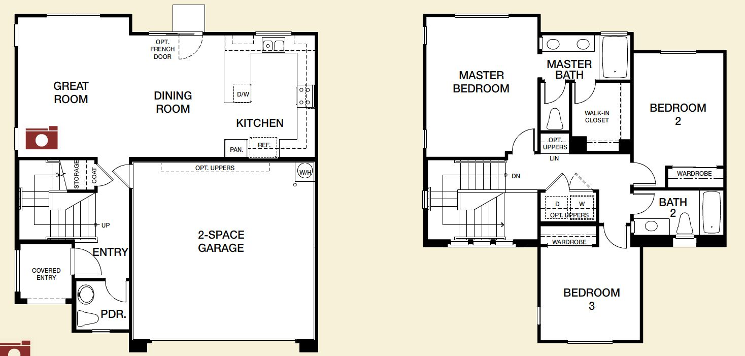 Northern Terrace in Providence Floorplan