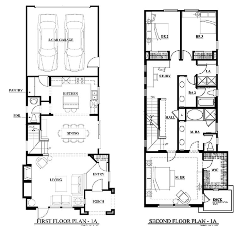 Terraza Otay Ranch Floor Plan 1