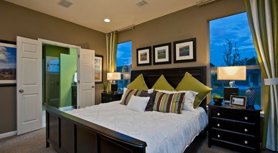 New Homes of Southpark Meadows Master Bedroom