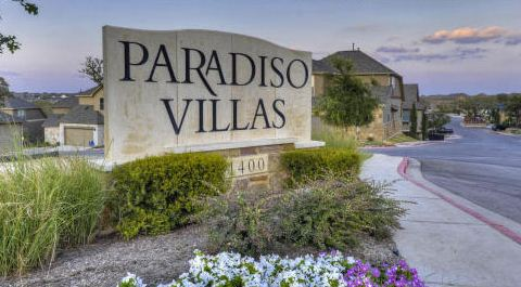 Paradiso Villas New Homes in Cedar Park, TX