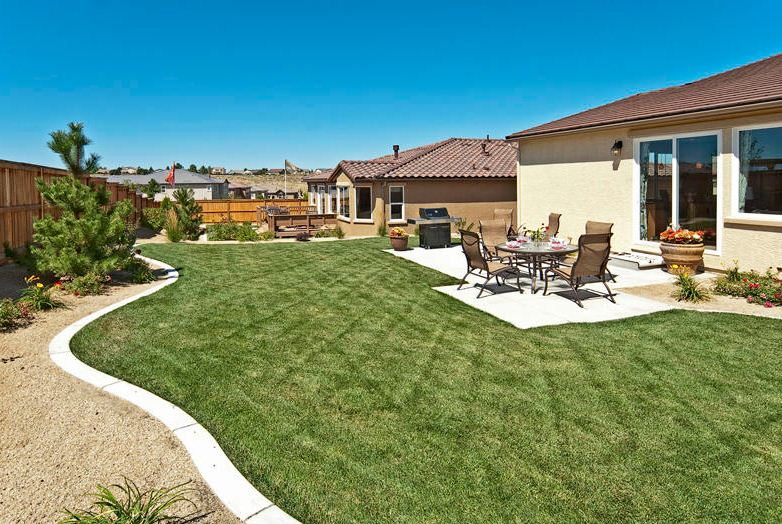 La Tierra at Miramonte New Homes Backyard