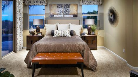 New Homes at Canyon Trails Master Bed Room