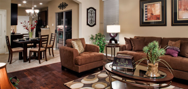 The New Homes Southpark Meadows - Family Room