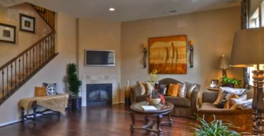 Villas de Avila New Homes Living Room