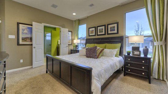 Preston Village Homes Master Bedroom
