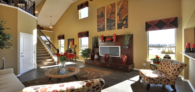 Southpark Meadows Homes Living Room