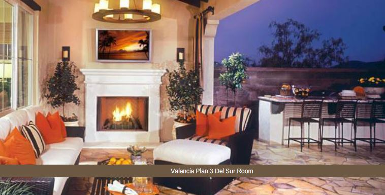 Valencia at del sur three model homes for sale for Model home furniture for sale