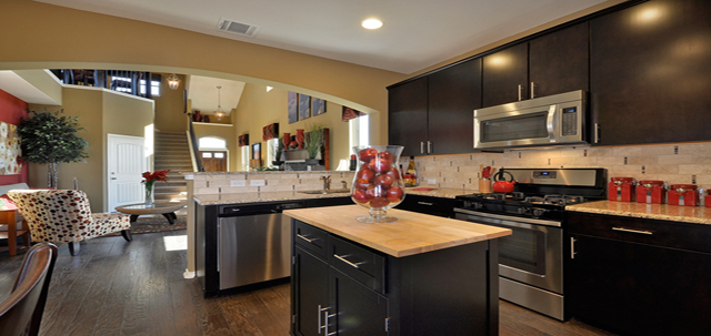 Kitchen of Southpark Meadows New Homes