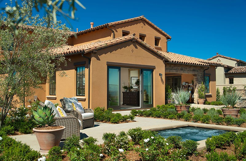 New Home at Ravello in Cielo Community - Yard