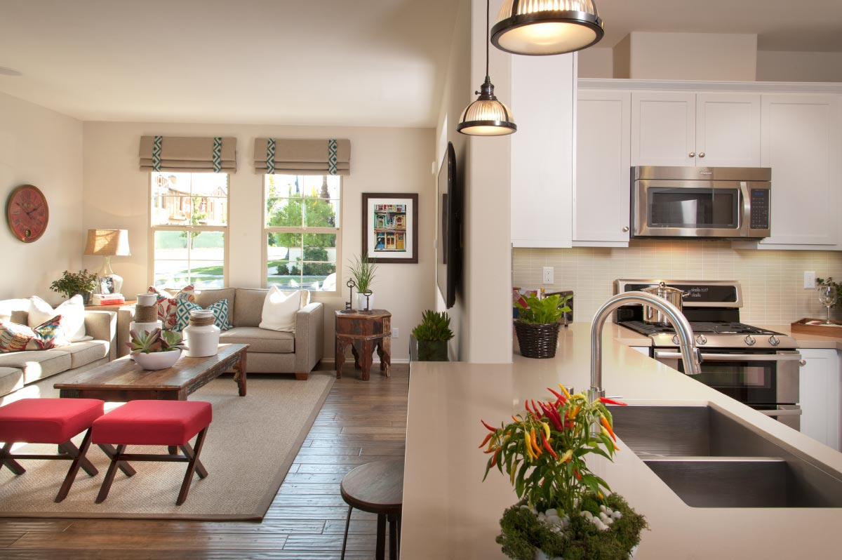 New Home of Casita at Colony Park - Kitchen and Living Room