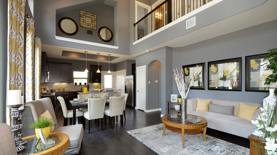 New Homes of Preston Village - Great Room