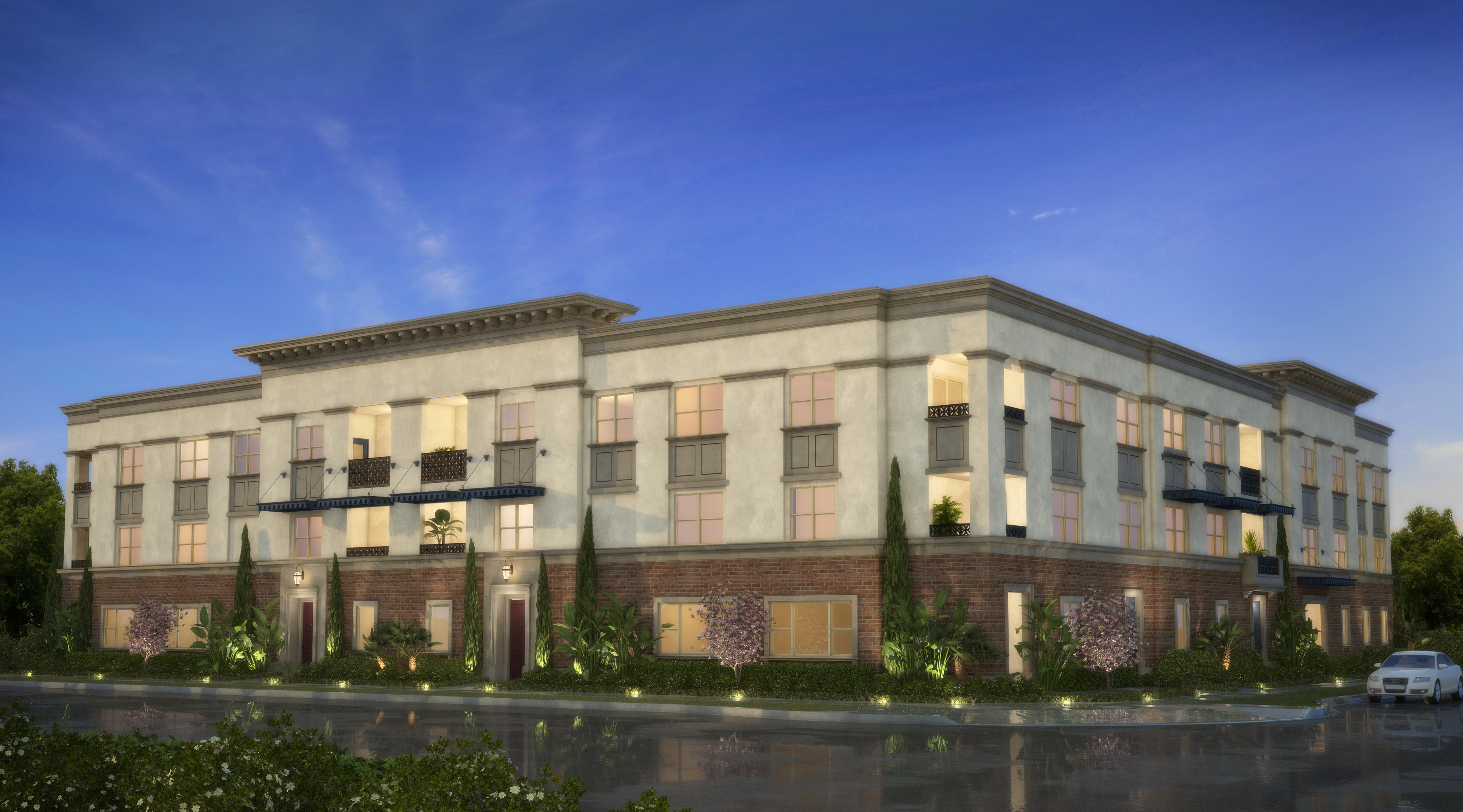The Domain Townhomes in Anaheim