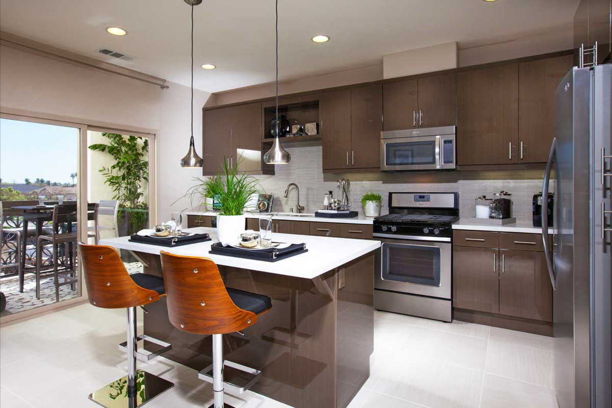 The Domain New Townhomes in Anaheim - Kitchen
