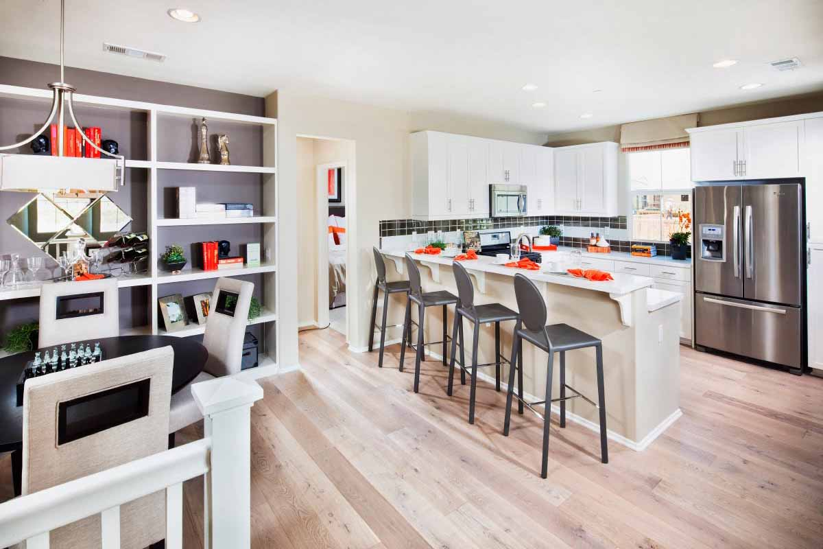 New Townhomes of Palmetto at Rosedale Open Floorplan
