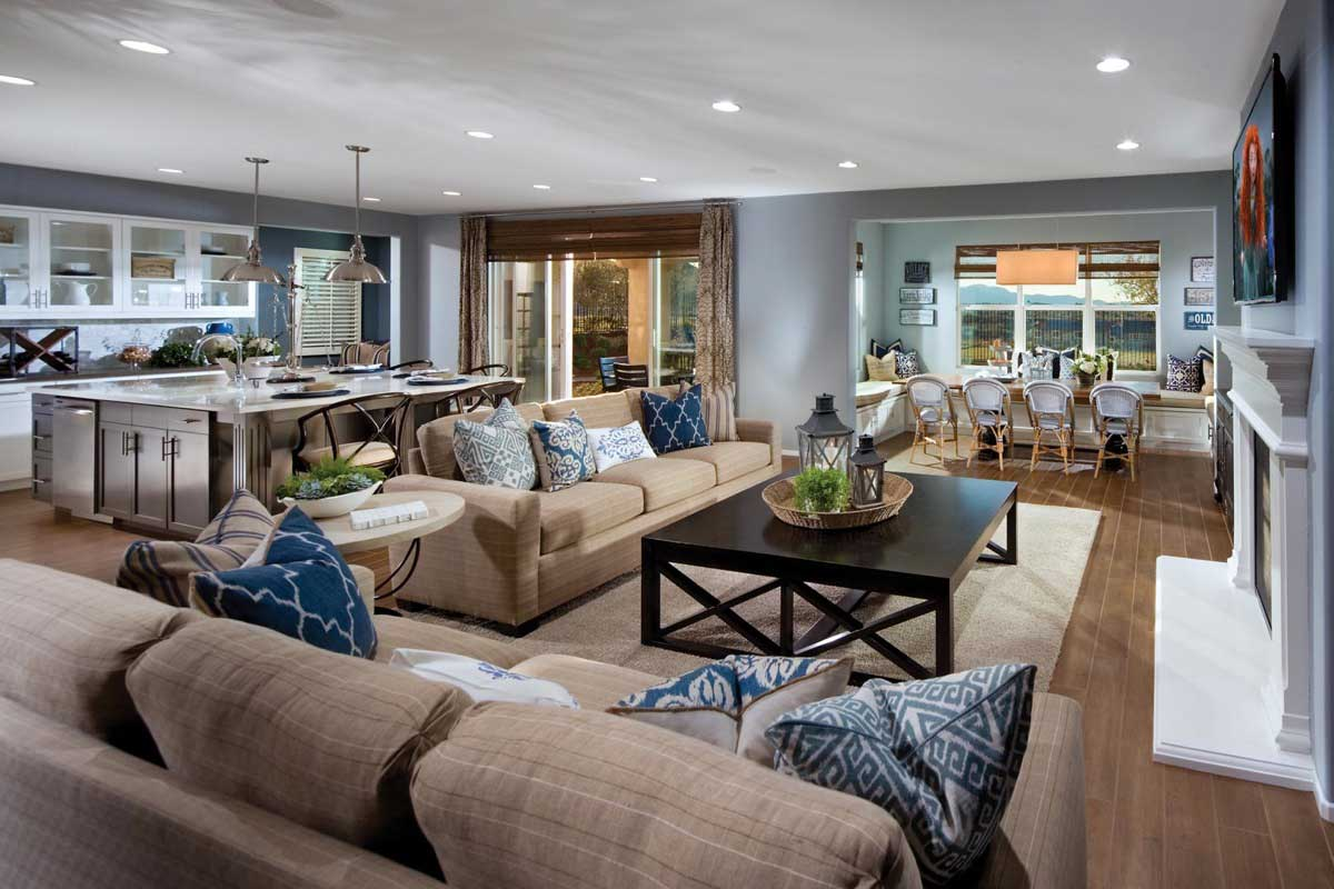 New Homes of Big Sky at Audie Murphy Ranch - Great Room