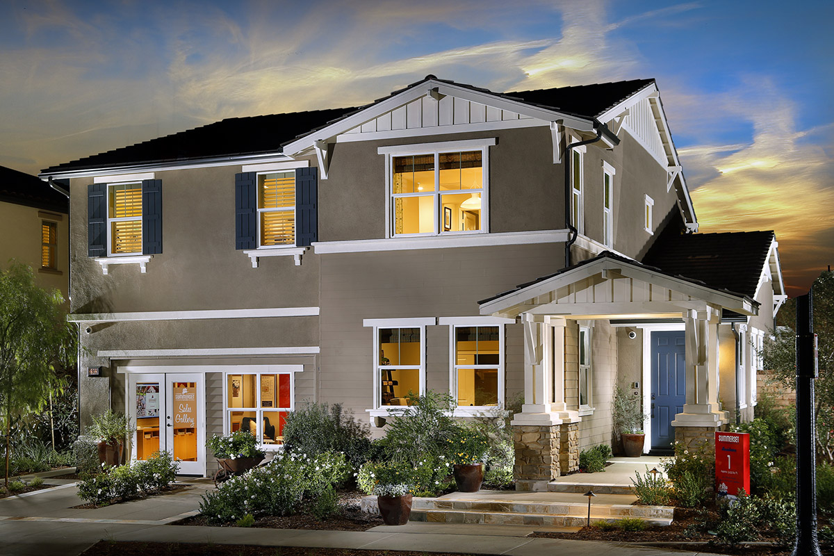 Ontario Ranch, CA new homes of New Haven