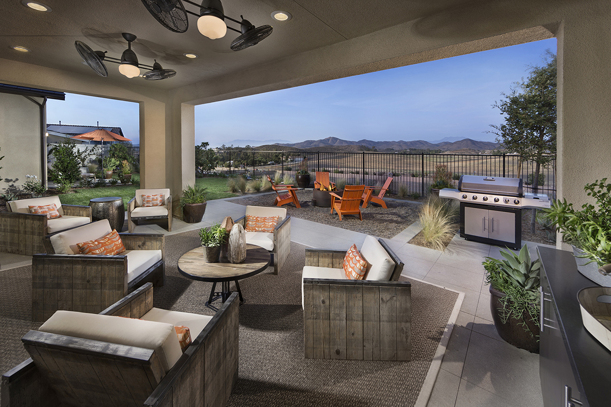 Liberty at morningstar ranch homes creates a love affair for Liberty home builders