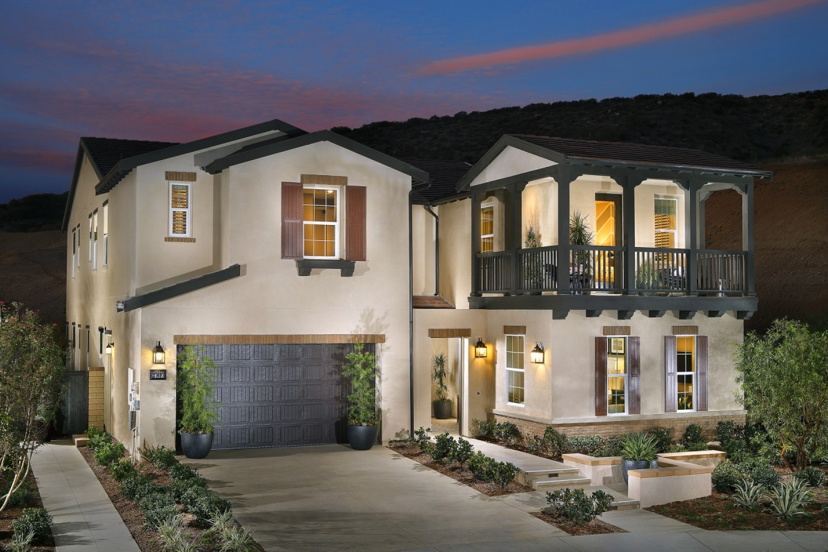 The new homes of Highglen at Five Knolls