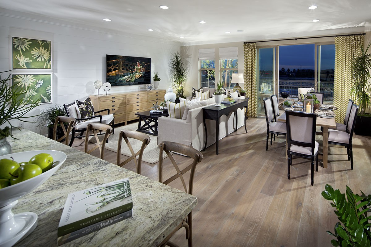 El Paseo Foothill Ranch New Homes Lake Forest - Plan 6 Great Room