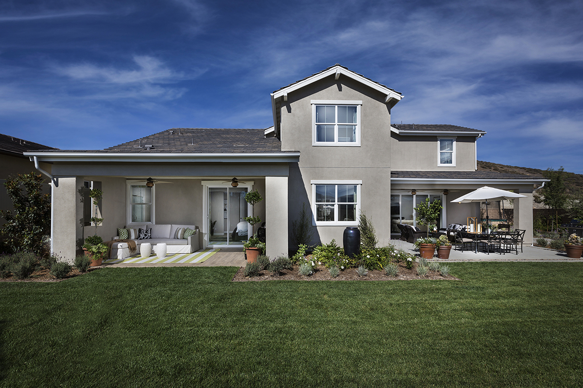 Liberty at morningstar ranch offers large lots for New ranch homes
